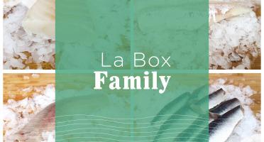 Qwehli - Box FAMILY - Eglefin - Lieu Noir - Sardine - Moules