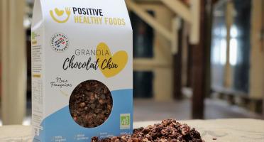 Moulins de Versailles - Granola Chocolat Chia
