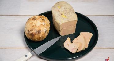 Ferme de Pleinefage - Foie Gras Mi Cuit De Canard 500 G (6 Personnes)