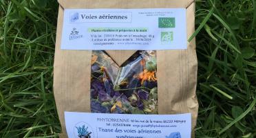 """PhytoBrenne Le Jardin des Magies - Tisane Composée """"Voies Aériennes"""""""