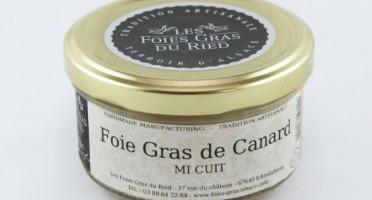 Les foies gras du Ried - Verrine Semi Conserve de Foie Gras de Canard Mi-Cuit 200g