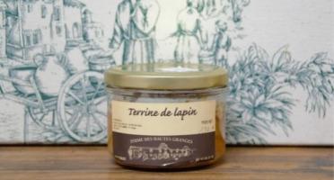 Ferme des Hautes Granges - Terrine de lapin - 190 g