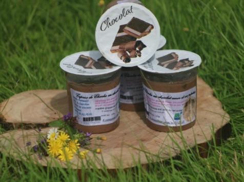 Ferme Dumesnil - Crème Dessert Chocolat Noir
