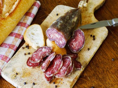 La ferme d'Enjacquet - Saucisson porc fait maison