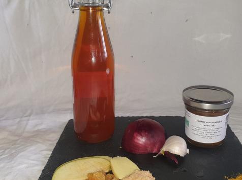 La Ferme du Montet - Chutney Oignons raisins