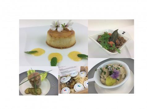 Christian Piot - Votre chef en ligne - Panier Repas Saveurs Champenoises 5 créations pour 2 personnes