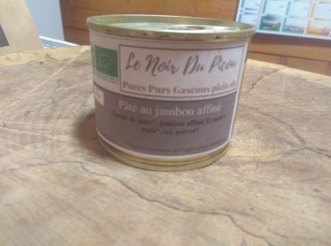 Le Noir du Picou Elodie Ribas - Pâté de porc gascon au jambon affiné