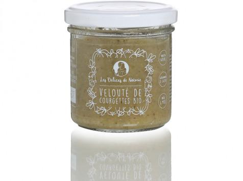 Les délices de Noémie - Petits Pots Bébé 6 mois: Lot de 3 Velouté de Courgettes Bio