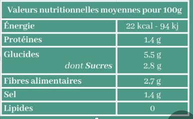 Les Jarres Crues - Choucroute Aux Algues Bio - 1 Kg