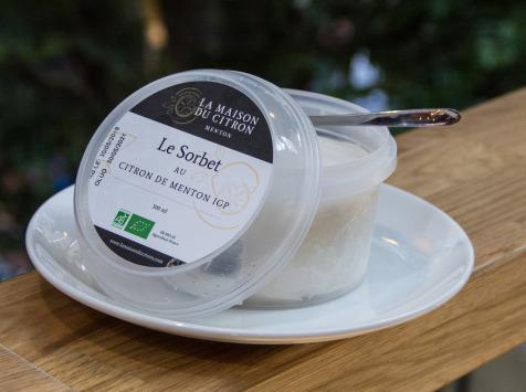 La Maison du Citron - Sorbet Bio Citron De Menton IGP - 500 ml