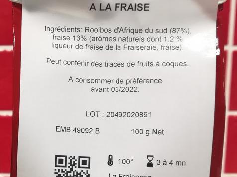 La Fraiseraie - Rooibos Fraise