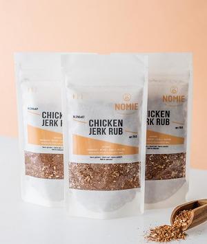 Nomie, le goût des épices - Chicken Jerk Rub. Mélange Pour Marinade De Volailles Et Bbq