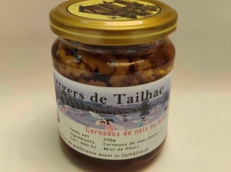 Les Vergers De Tailhac - Pot Miel Noix (250g)