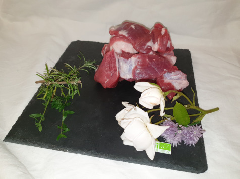 La Ferme du Montet - [SURGELÉ] Sauté de Porc Noir Gascon BIO  - 600 g