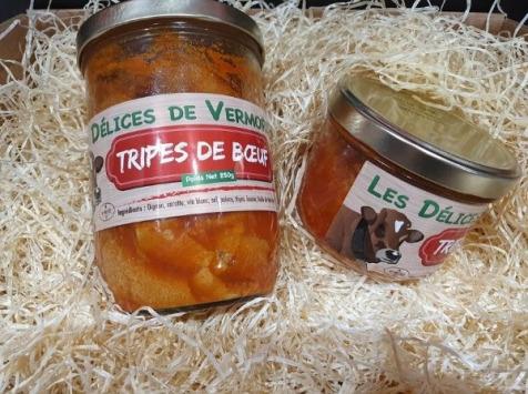 Les Délices de Vermorel - Tripes de bœuf - Rouge des Prés - 380 g