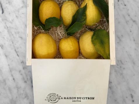La Maison du Citron - Coffret 6 Citrons De Menton Igp Bio
