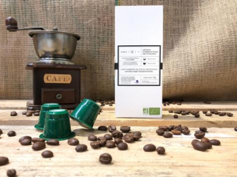 Cafés Factorerie - Capsules Pérou Oro del Marañón Bio - 10 capsules