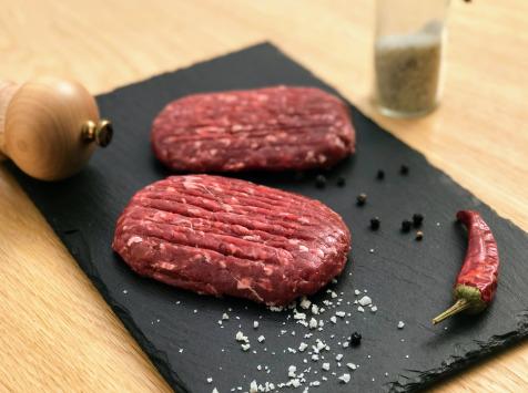 Les poilus-cornus du Grand Est - Steak Haché De Boeuf Highland-cattle - 500g
