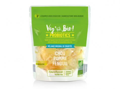 Choucroute André Laurent - Légumes Lacto-Fermentés : Chou - Pomme - Fenouil