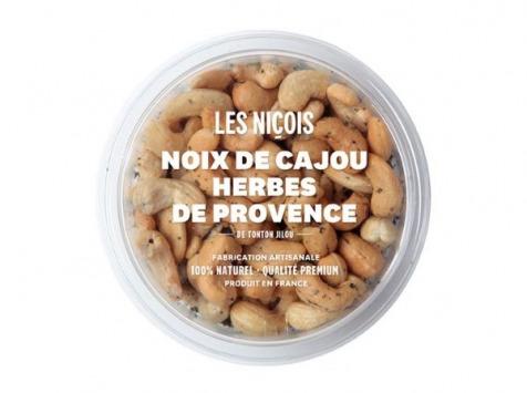 Les Niçois - Noix De Cajou Aux Herbes De Provence De Tonton Jilou -  110g