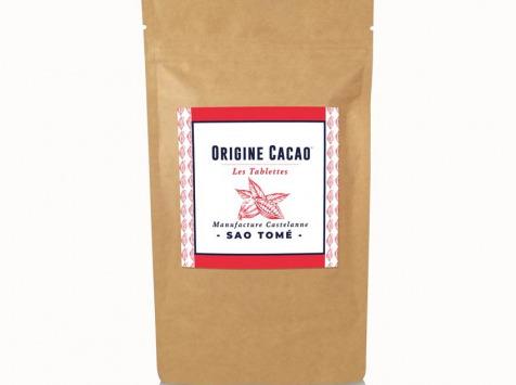 Maison Castelanne Chocolat - Tablette Sao Tome - Sao 74% - Fèves Origine Bio