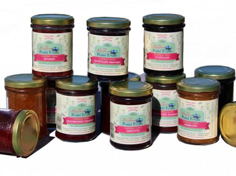 La Ferme des petits fruits - Offre De 12 Confitures Allégées En Sucres