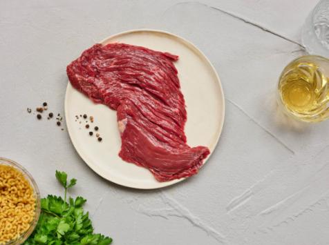 BEAUGRAIN, les viandes bien élevées - Bavette de Salers (180g x 5)