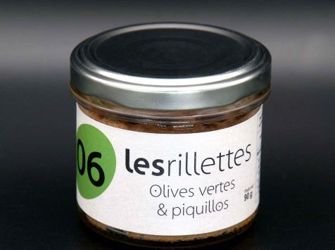 Secrets de Famille - Rillettes olives vertes et piquillos