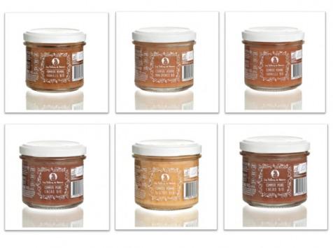 Les délices de Noémie - Compotes Bio pour bébé 10 mois (x6): Pomme - Vanille/cannelle/pain D'épice/biscuit, Poire, Poire Cacao