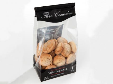 Des Lis Chocolat - Sablés Coquelicot ''flore Cocardon'', Sachet De 250g
