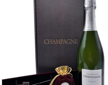 Le safran - l'or rouge des Ardennes - Coffret Champagne, Safran Et Bracelet Safrané Spécial Fêtes des Mères