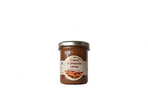 Les amandes et olives du Mont Bouquet - Crème D'amande Cacao 200g (pâte À Tartiner)