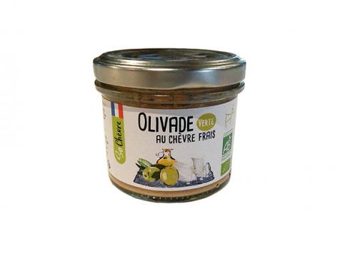 Fromagerie Seigneuret - Olivade Au Chèvre Frais - Verte 90g