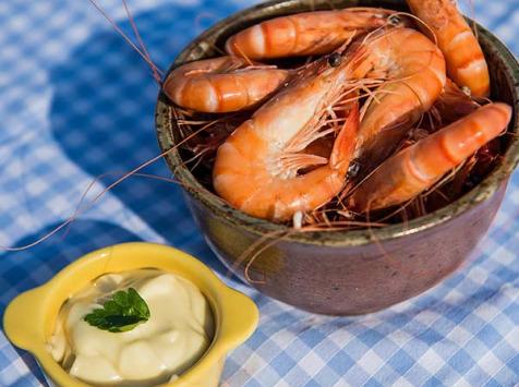 Ô'Poisson - Crevettes Cuites Bio - Lot De 500g