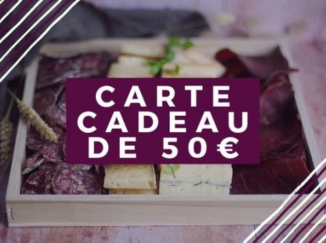 Pourdebon - Carte Cadeau 50 €