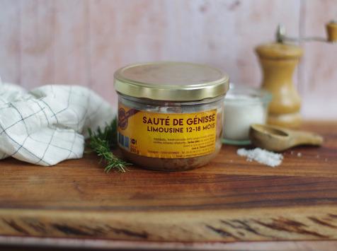 La Ferme Des Gourmets - Sauté de Génisse 350g
