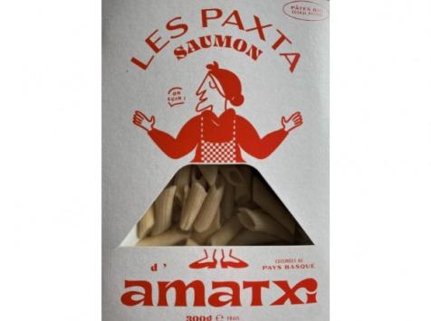 Les Saveurs d'Amatxi - Paxta BIO au Saumon BIO cuisinées, à réchauffer