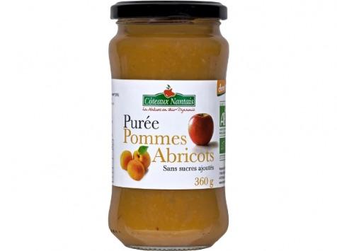 Les Côteaux Nantais - Purée Pommes Abricots 360g Demeter