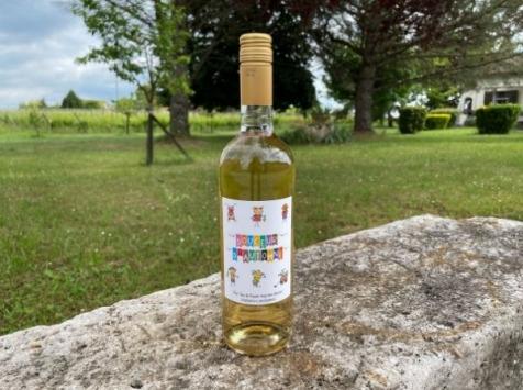 Vignobles Fabien Castaing - Jus de Raisin Blanc 100% Naturel Douceur d'Automne - 75cl