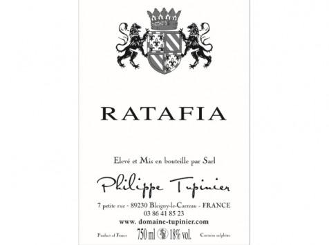 Domaine TUPINIER Philippe - Ratafia De Bourgogne 2018 - 2 Bouteilles De 75 Cl