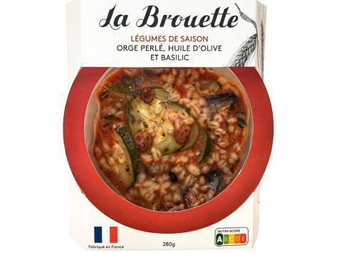 La Brouette - Pour 1 Pers. - Légumes De Saison Orge Perlé, Huile D'olive Et Basilic