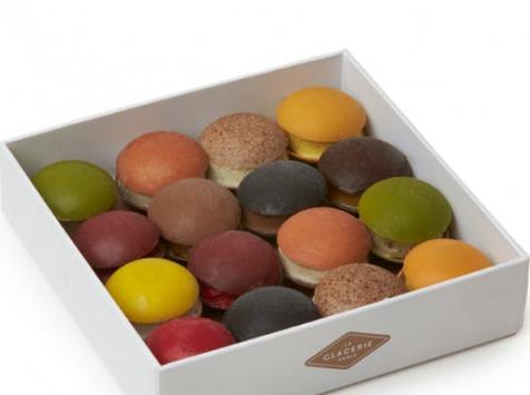 La Glacerie par David Wesmaël - Meilleur Ouvrier de France Glacier - Coffret De 16 Bonbons Chocolat Glacés