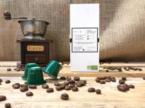 Cafés Factorerie - Café en CAPSULES du Mexique Bio - 10 capsules