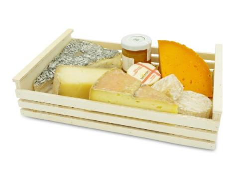 BEILLEVAIRE - Lot de 5 Fromages en Cagette de saison