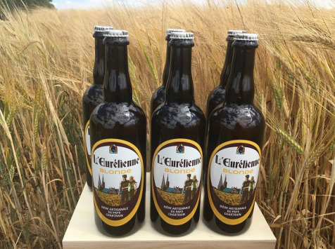 L'Eurélienne - Brasserie de Chandres - 6x Bières L'Eurélienne Blonde 75cl