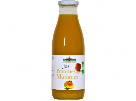 Les Côteaux Nantais - Jus Pommes Mangues 75 cl