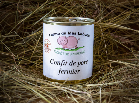 La Ferme du Mas Laborie - Confit de porc - 600g