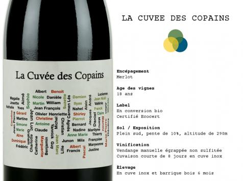 """Mas Levigné - Vins du Sud-Ouest, """"La Cuvée des Copains"""" (x6)"""
