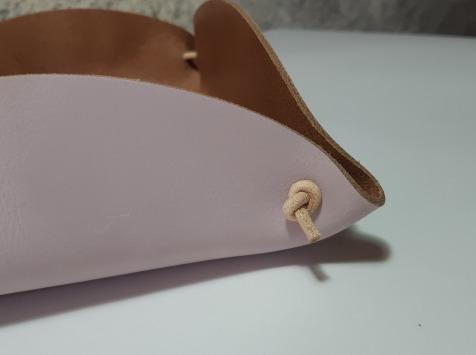Sillage Maroquinerie - Corbeille à Pain - Mauve