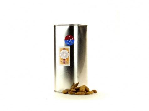 Les amandes et olives du Mont Bouquet - Huile d'amande grillée 1 litre